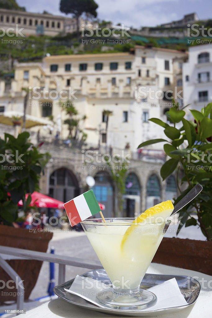 Lemon Ice in Amalfi, Italy royalty-free stock photo