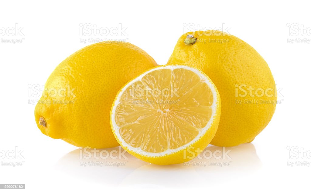 lemon isolated on white background royalty-free stock photo