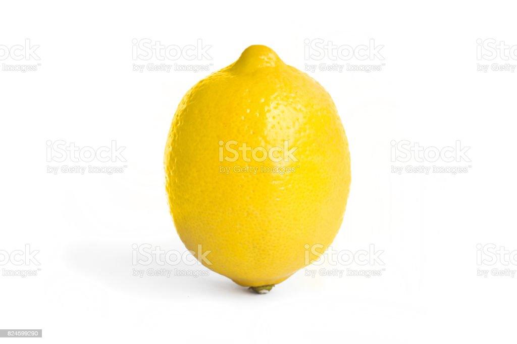 Lemon isolated on white background - Zbiór zdjęć royalty-free (Austria)