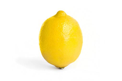 Lemon Isolated On White Background - zdjęcia stockowe i więcej obrazów Austria