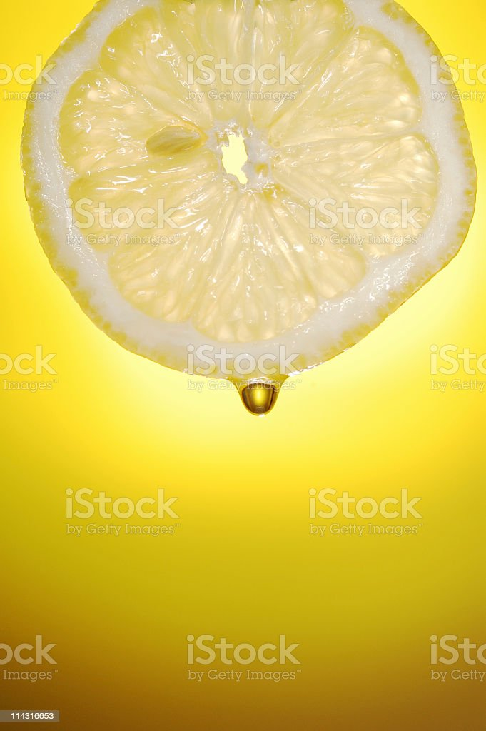 Lemon Juice royalty-free stock photo