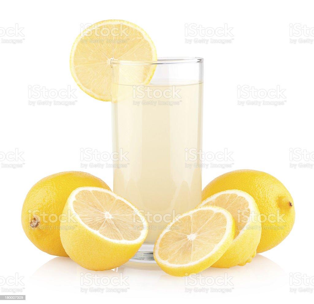 레몬 주스 royalty-free 스톡 사진