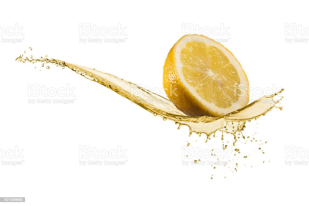 Jus de citron photo libre de droits