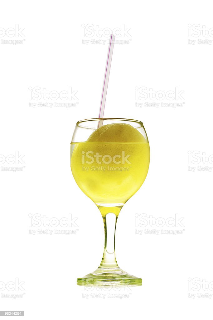 Lemon juice royalty-free stock photo