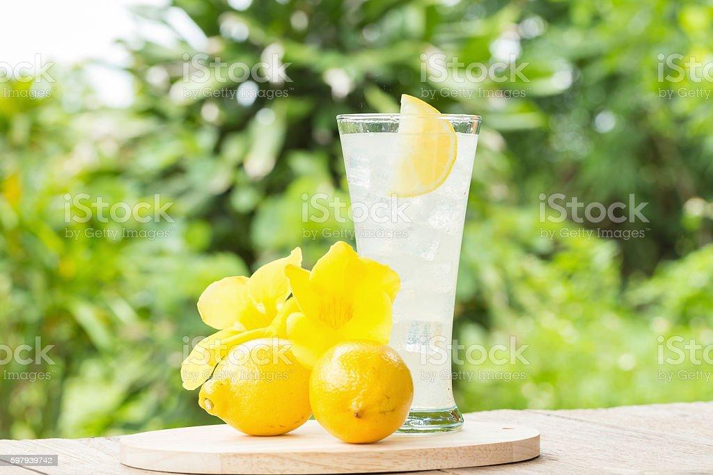 lemon juice with honey foto royalty-free