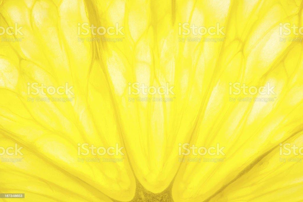 XXL Lemon Macro Background royalty-free stock photo