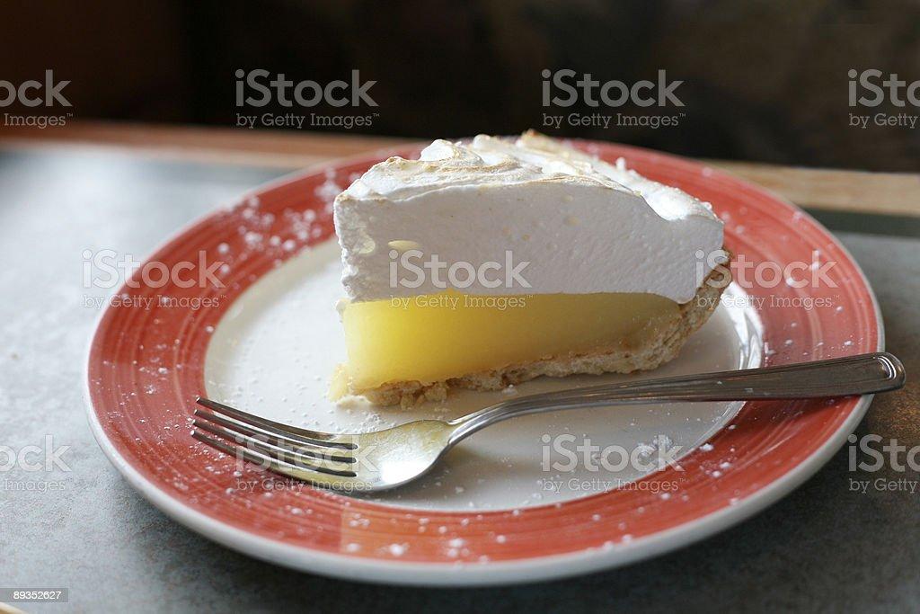 Tarte au citron meringuée - Photo