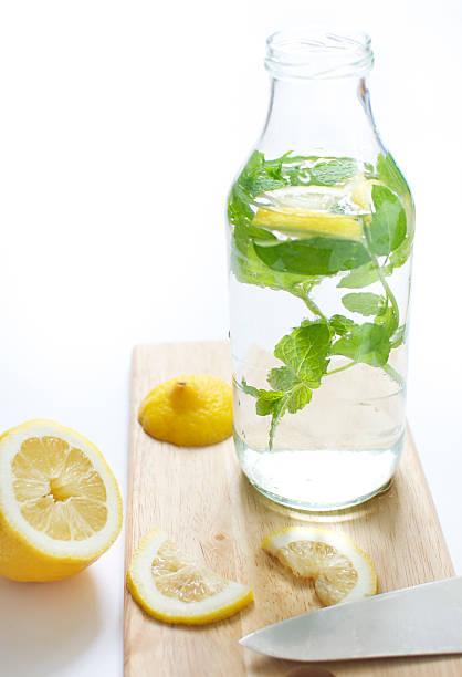Zitrone Minze Wasser – Foto