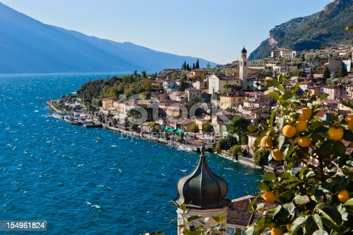 Limone sul Garda is a small town on the Brescia side of Lake Garda, nestled between the lake and the mountains, famous for its lemon groves, for the prized olive oil and the wonderful landscapes.