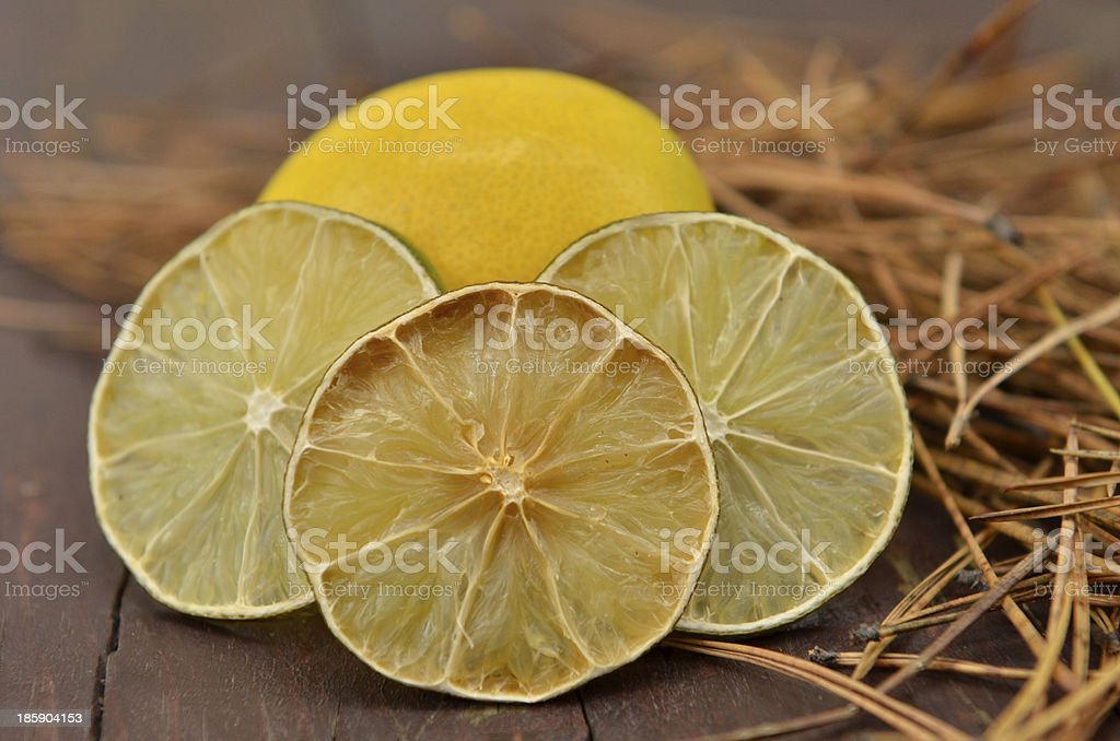 ​​lemon on natural background royalty-free stock photo