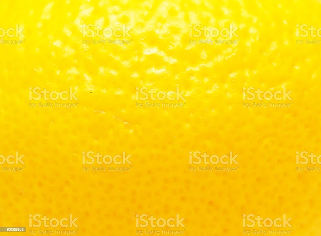 lemon peel stock photo
