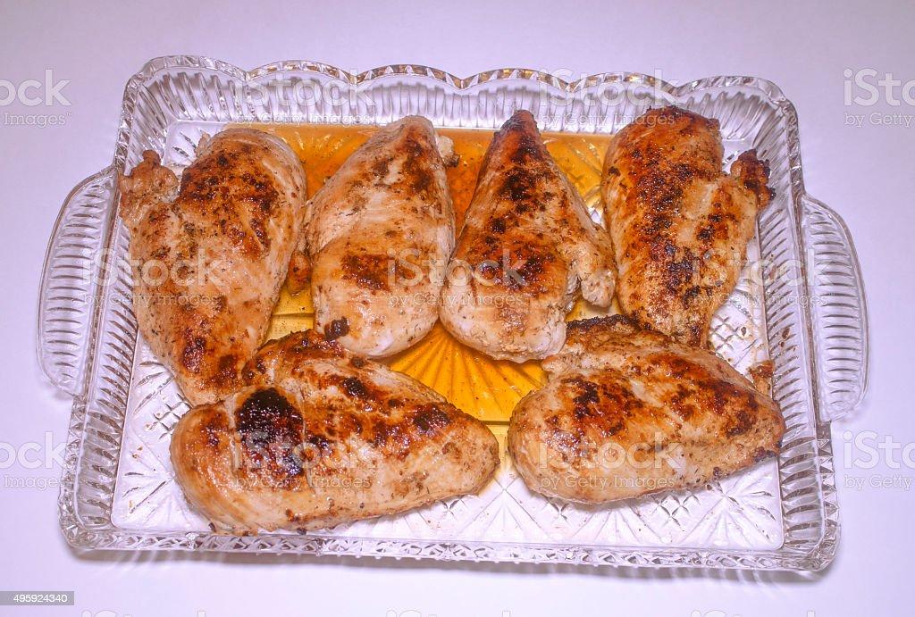 Lemon Pepper Chicken stock photo