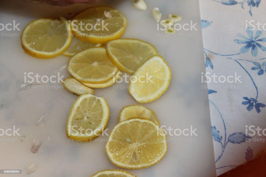 lemon stock photo
