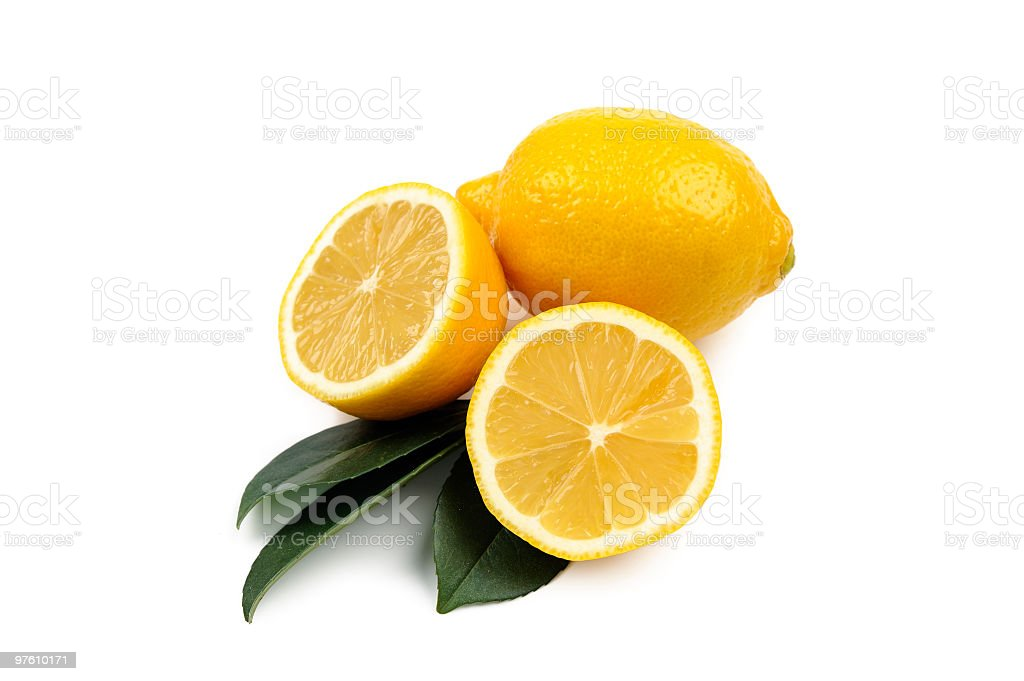 Lemon royaltyfri bildbanksbilder