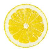 istock Lemon Portion On White 186813786