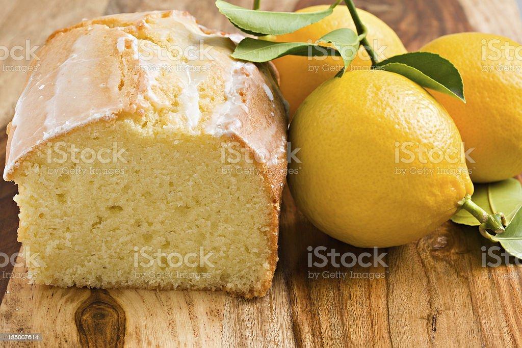 Bolo de limão - foto de acervo
