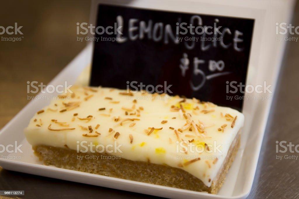 Lemon slice cake - Royalty-free Australia Stock Photo