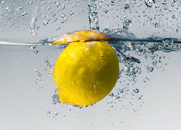 Zitrone splash – Foto