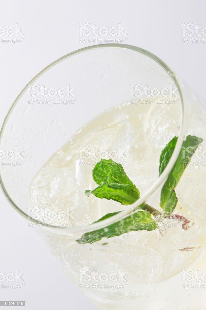 Lemon squash stock photo