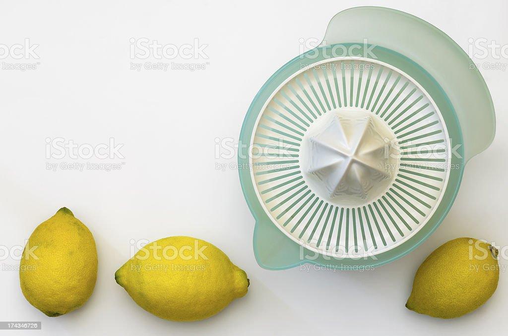 Lemon Squeezer 04-Lemons stock photo