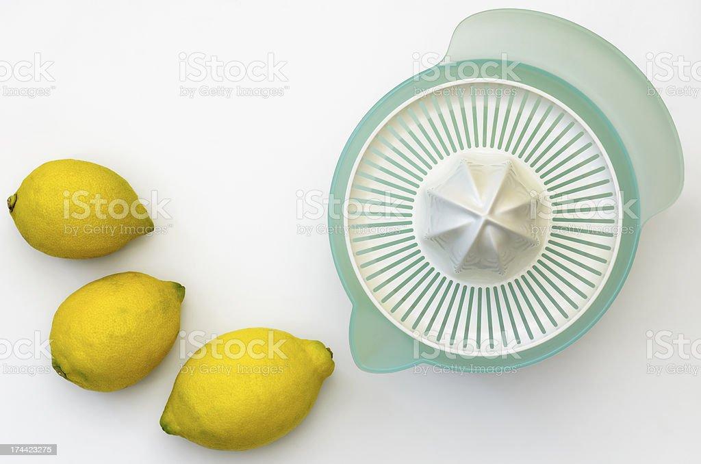 Lemon Squeezer stock photo