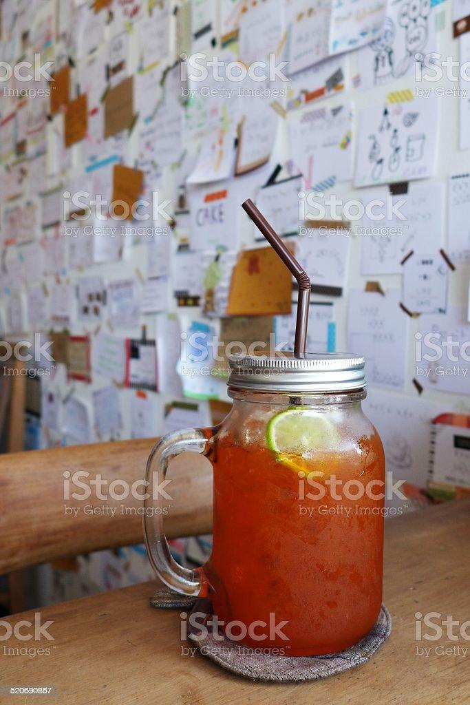 lemon tea. stock photo