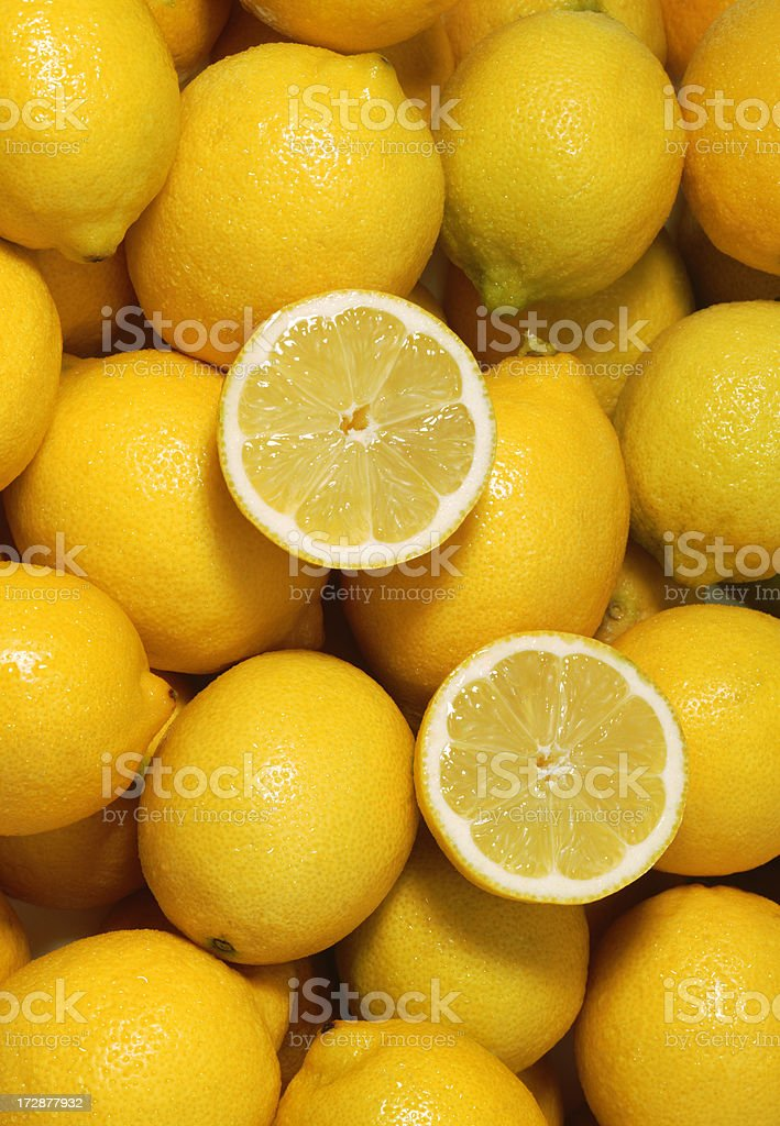 Lemon wallpaper royalty-free stock photo