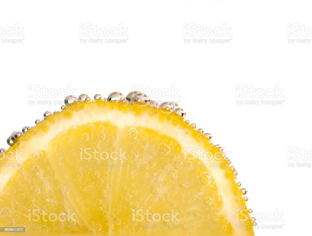 Lemon Water Bubbles - Royalty-free Bubble Stock Photo