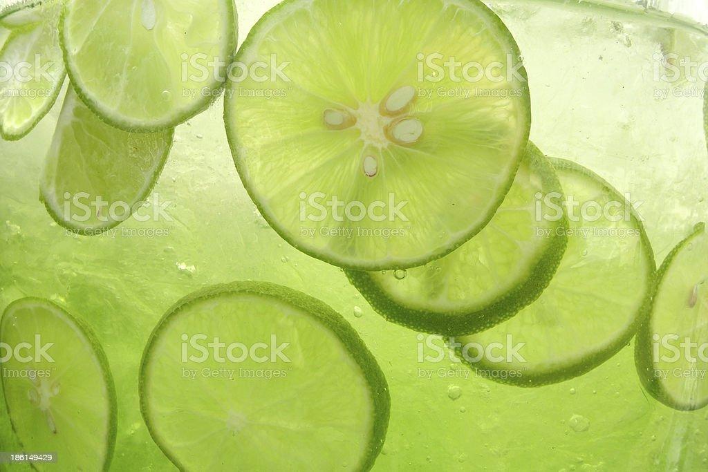lemonade closeup royalty-free stock photo
