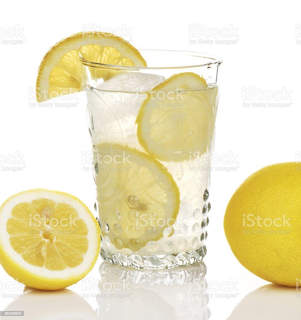 Limonata In vetro antico foto stock royalty-free