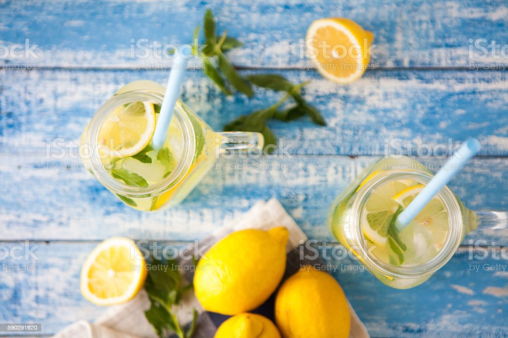Lemonade royaltyfri bildbanksbilder