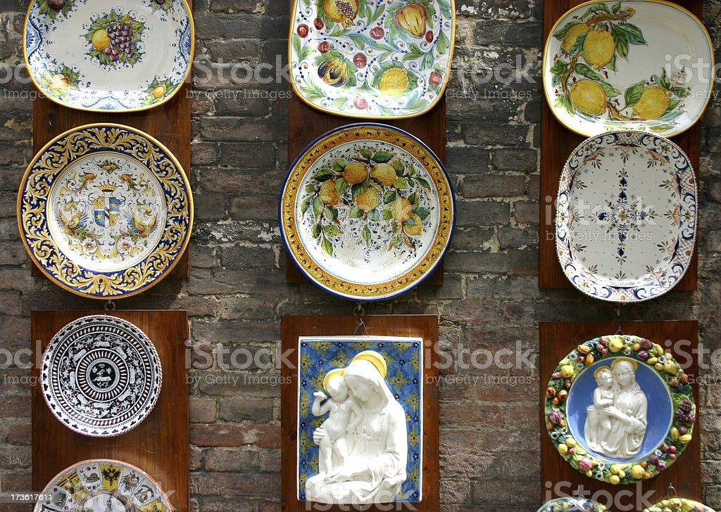 Lemons and Holy Maries royalty-free stock photo