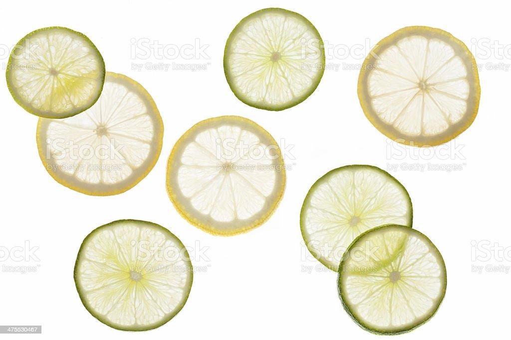 Lemons and Limes royalty-free stock photo