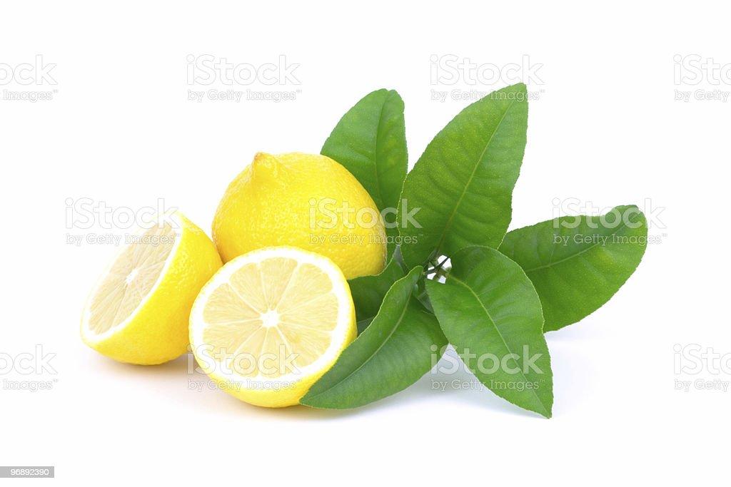 Lemons composition royalty-free stock photo