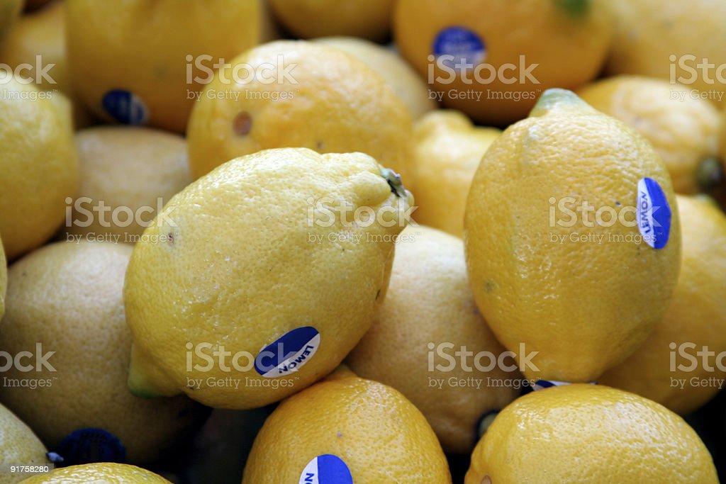 Lemons For Sale stock photo