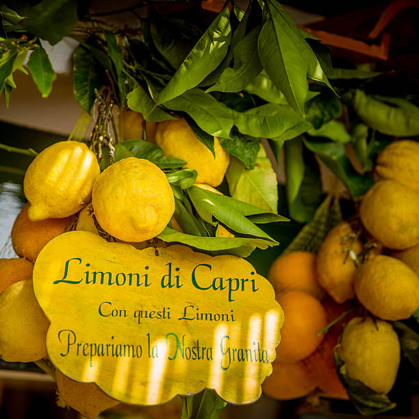 Lemons from Capri island, Italy – Foto