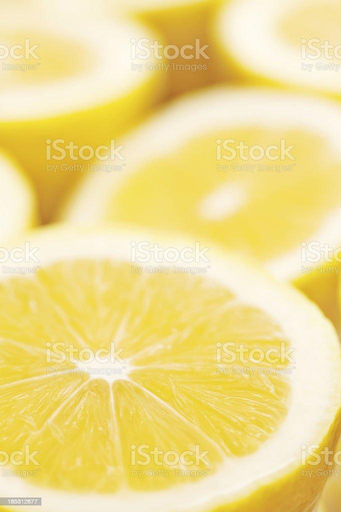 Lemons royalty-free stock photo