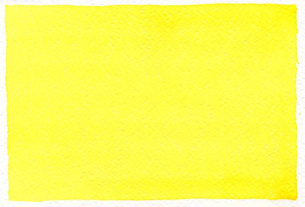 Lemon-Yellow Watercolor background stock photo