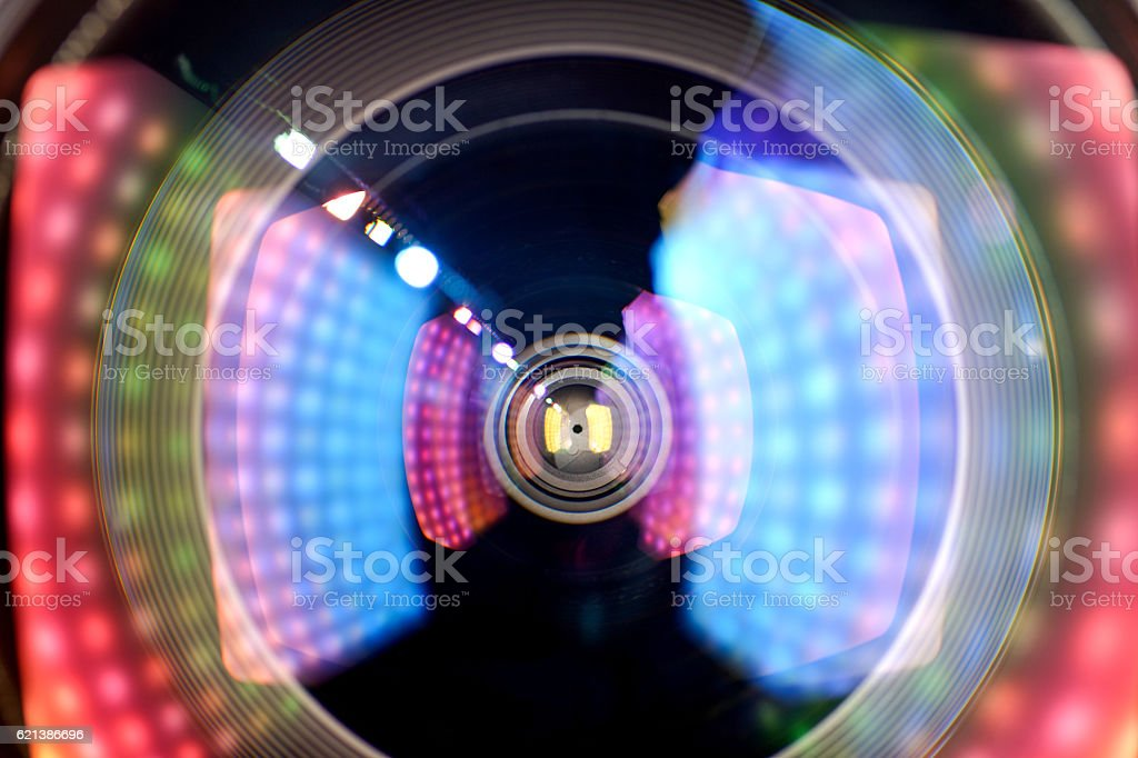 len  light effect stock photo