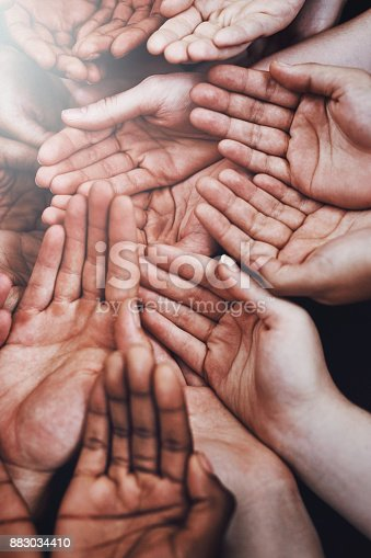 883034410 istock photo Lend a hand to those who need it 883034410