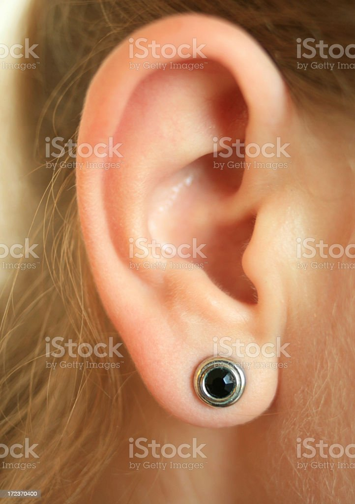 lend me your ear royalty-free stock photo