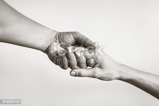 istock Lending a helping hand. 916253102