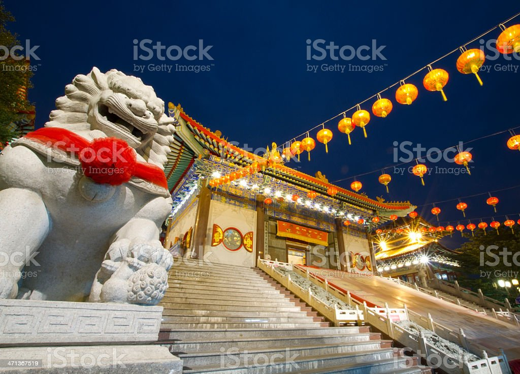 Lengneayyi2 Chinese temple stock photo