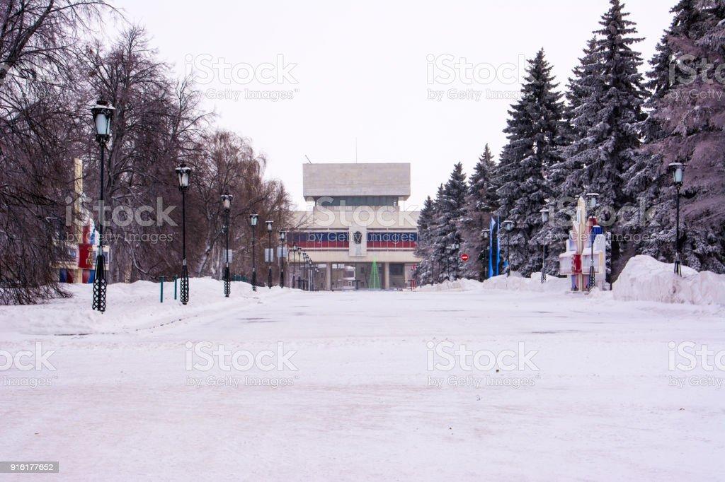 Lenin's memorial. stock photo