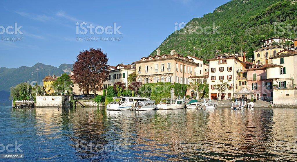 Lenno,Lake Como,Italy stock photo
