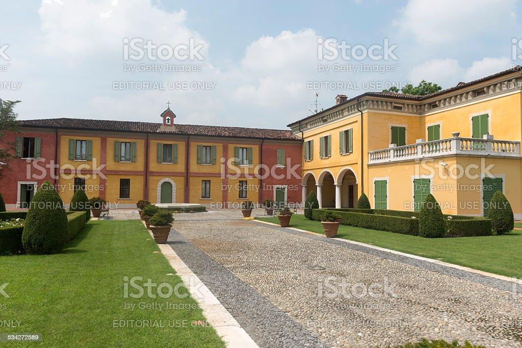 Leno (Brescia, Italy) stock photo
