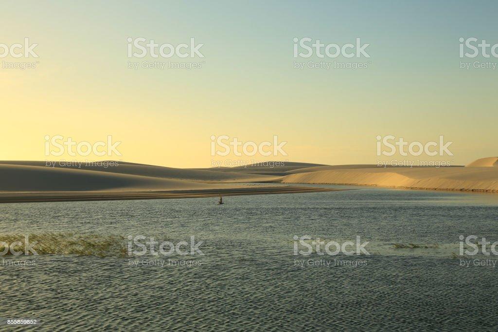 Lençois maranhenses stock photo