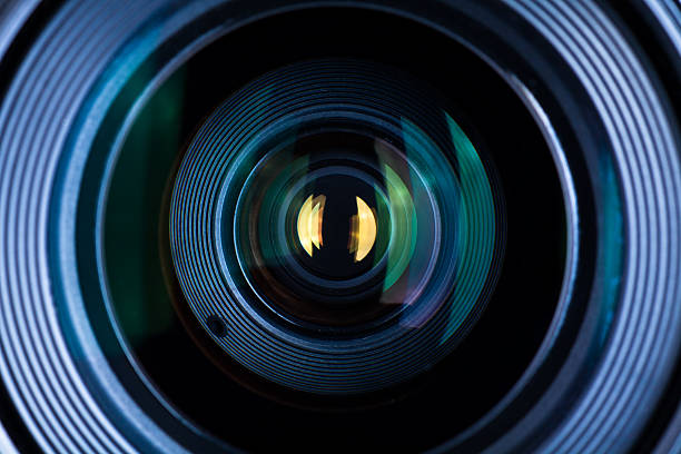 lens close up - camera lens stock photos and pictures