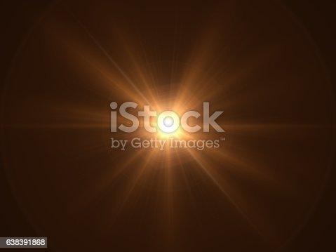 Light Beam, Spotlight, Star Shape, Shape, Lens Flare, Light Effect, Black Background