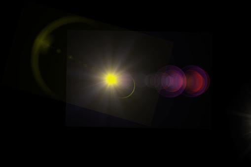 868064724 istock photo Lens Flare Effect 1039995364